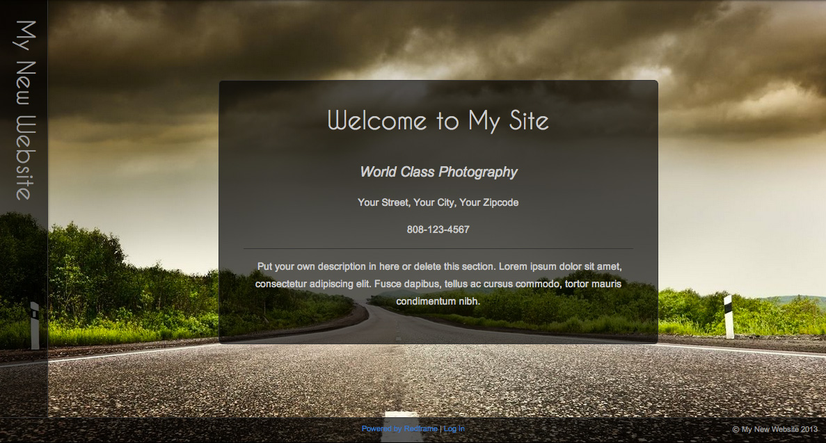 Edit the custom CSS on your Home Page \u2013 Redframe Help Center