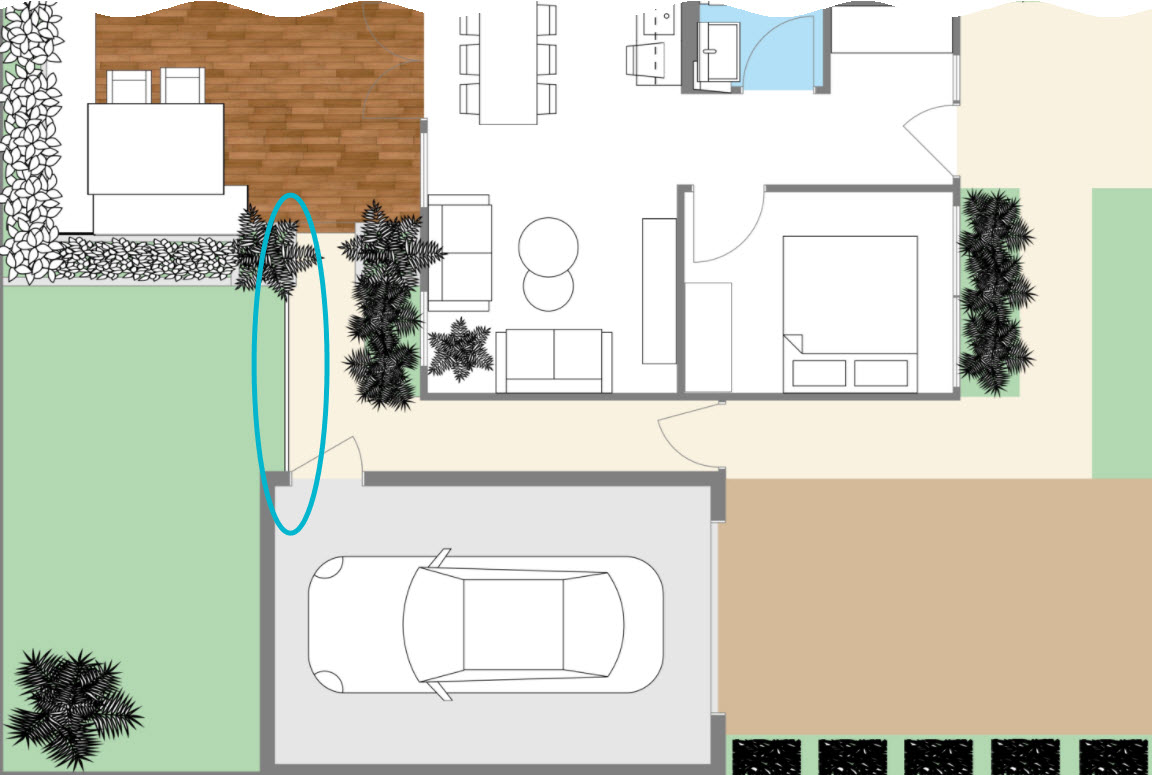Roomsketcher Balcony Create A 2d Site Plan Web Roomsketcher Help Center