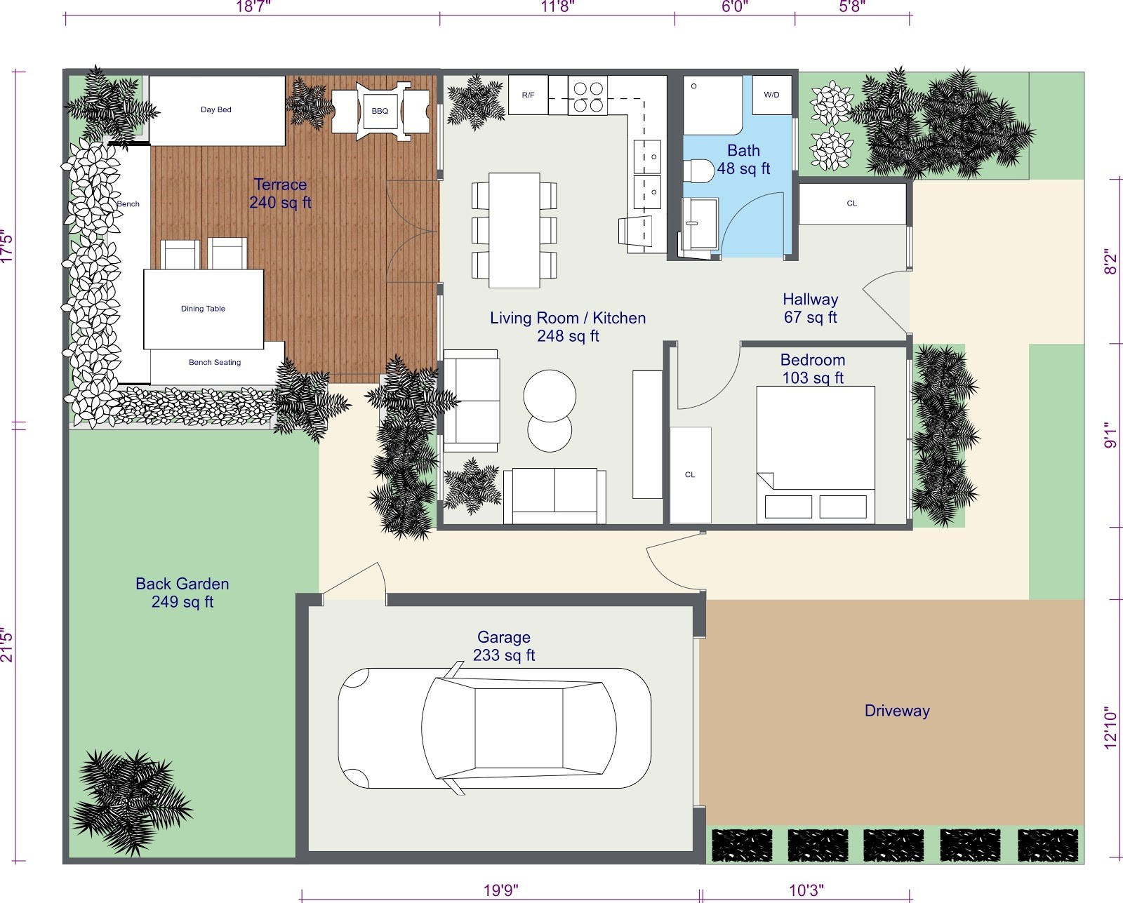 Roomsketcher Mac Create A 2d Site Plan Web Roomsketcher Help Center