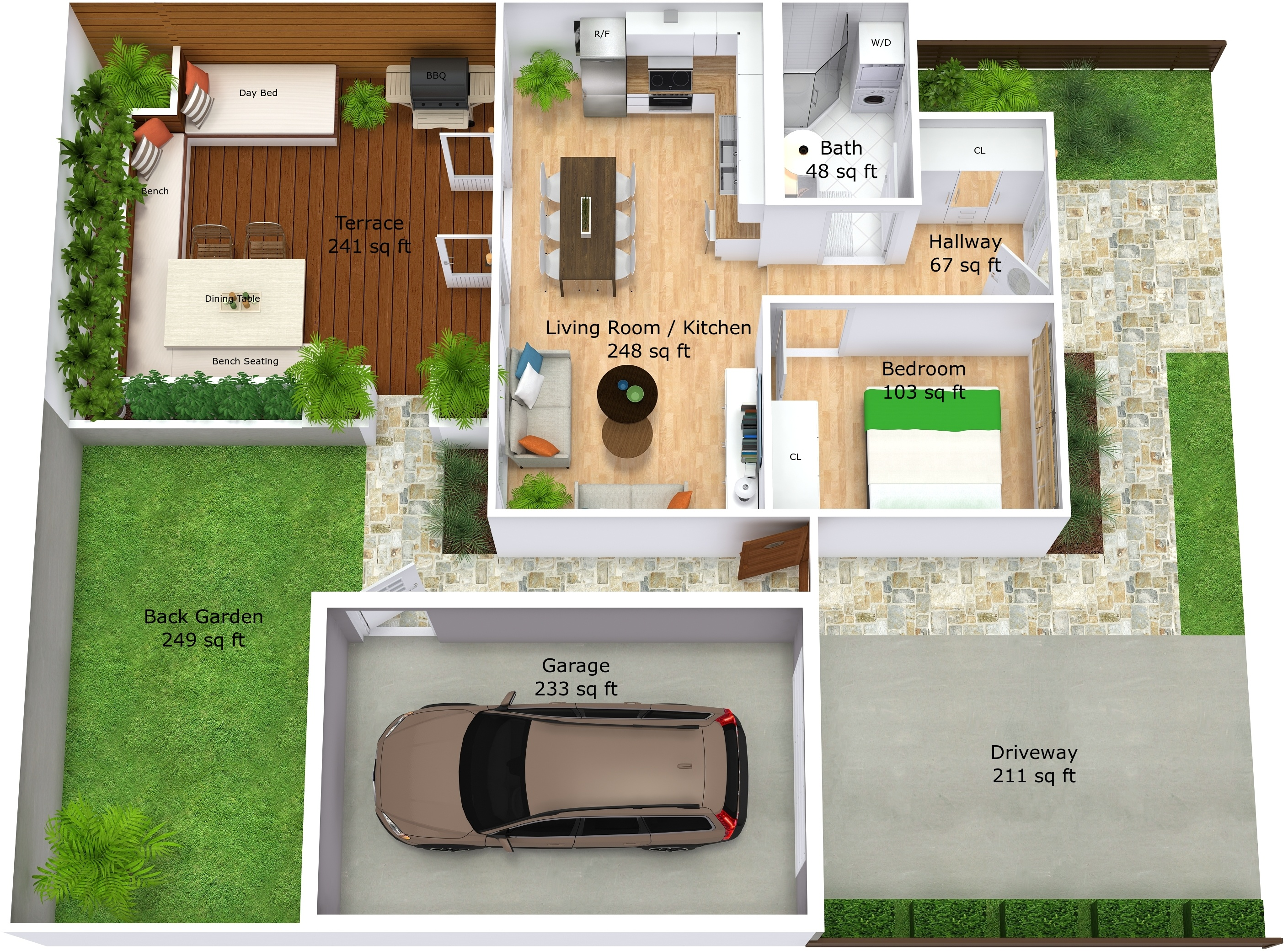 Roomsketcher Outdoor Create A 3d Site Plan (web) – Roomsketcher Help Center