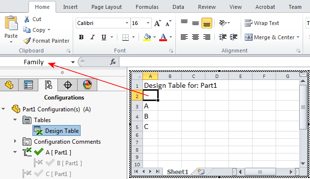 Design Table Solidworks 2017 Solidworks Help - Formatting Automatically Created