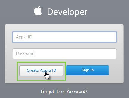 Create an Apple Developer Account \u2013 Help Center