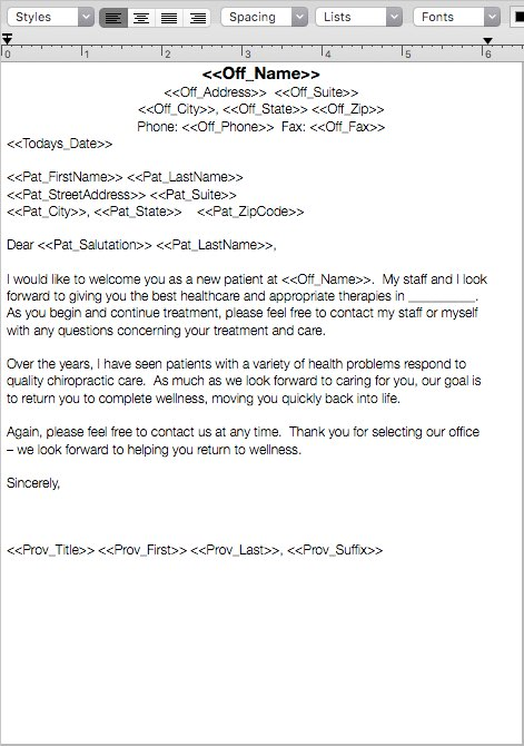 Notes - Template Basics \u2013 MacPractice HelpDesk