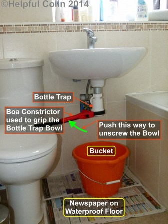 Unblocking My Wash Basin Drain