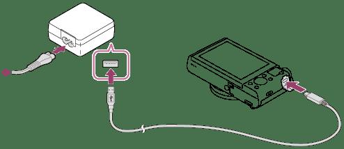 usb to battery ledningsdiagram