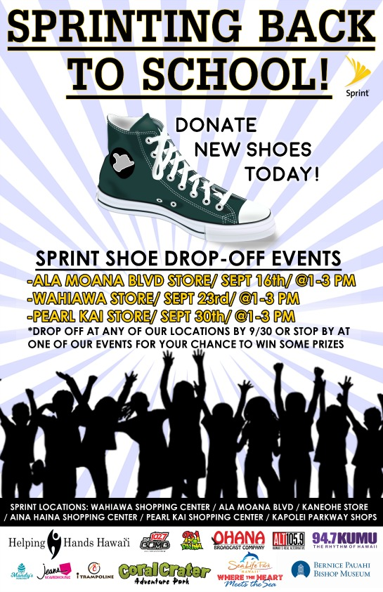 Sprinting Back to School \u2013 Shoe Drive for Students in Need Helping