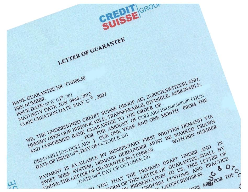 Bank Guarantee definition in the Trade World · Help In Trade - guarantee letter