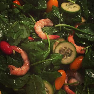 5 minute summer salad