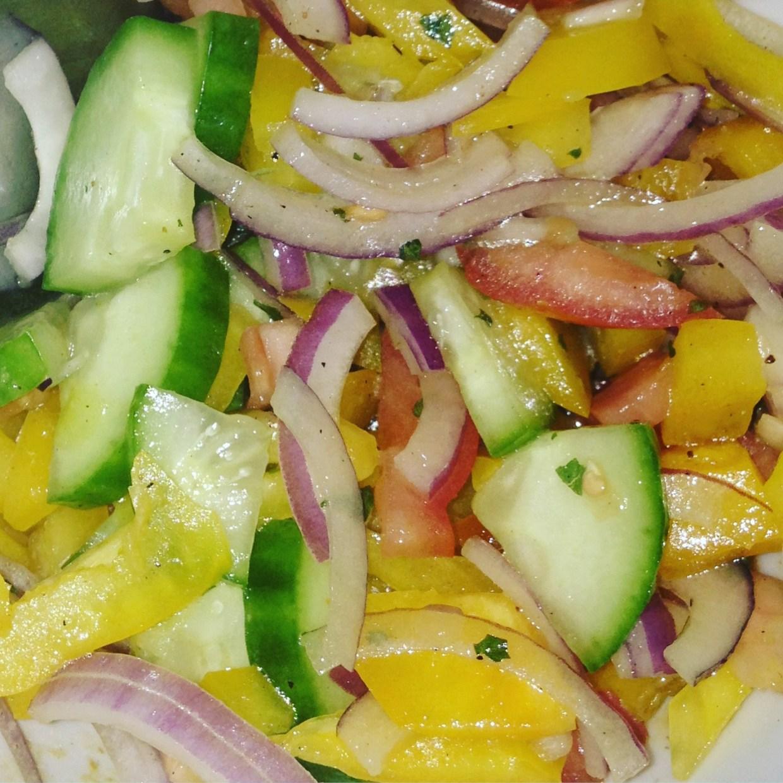 healthy side salad recipe