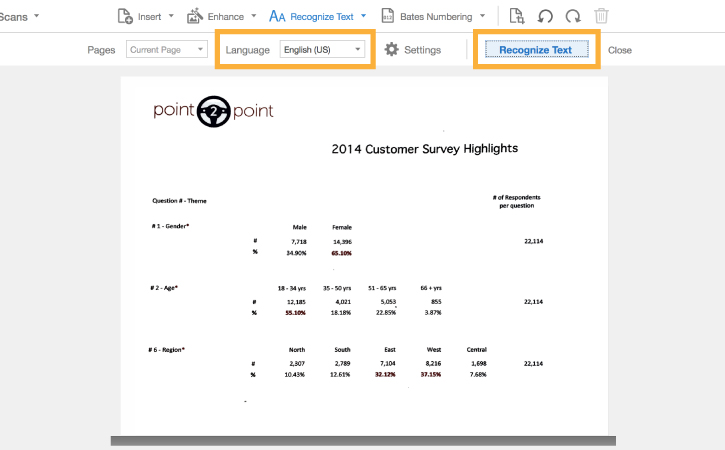 Scan paper documents to searchable PDF Adobe Learn  Support tutorials