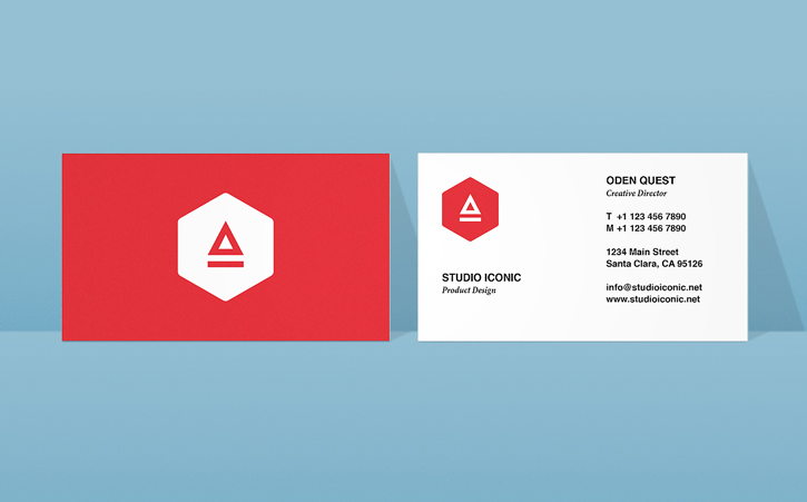 Business card design in InDesign Adobe InDesign CC tutorials - buisness card design