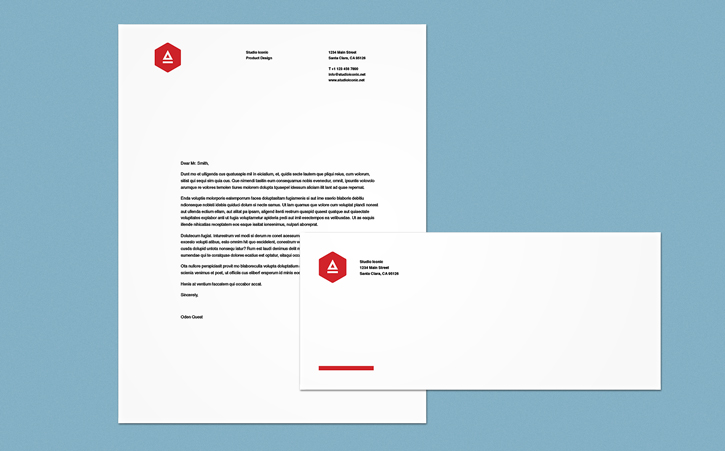 Letterhead design in InDesign Adobe InDesign tutorials