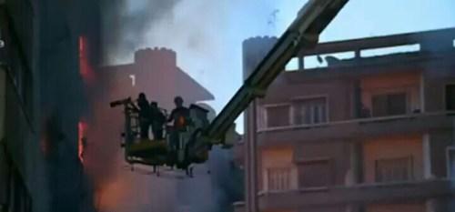 حريق العتبة