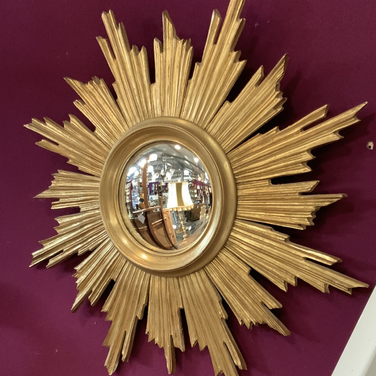 Sun Shaped Mirrors A Stunning Large Sun Burst Mirror France Belgium Antique Mirrors