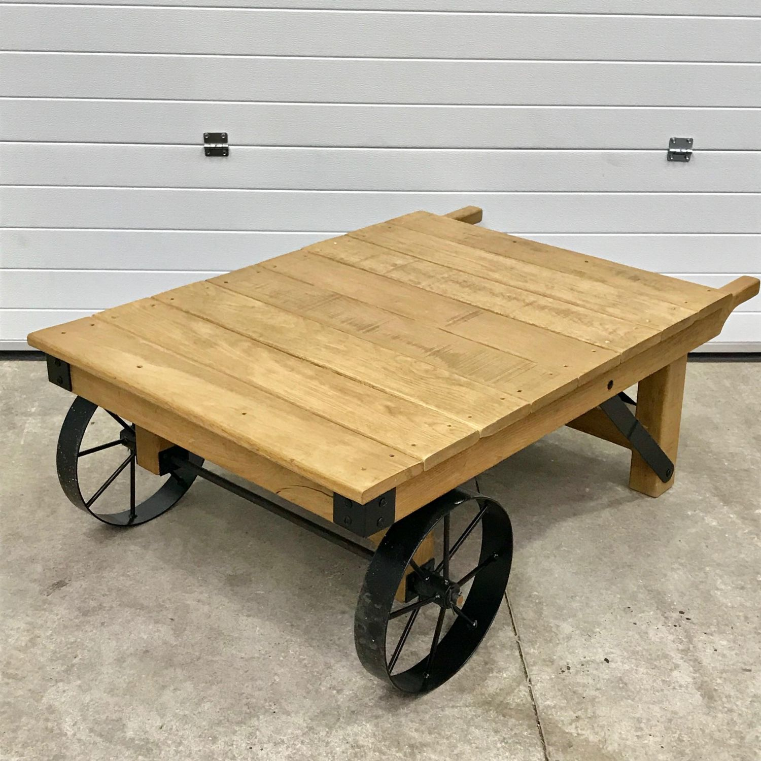 Industrial Vintage Vintage Industrial Trolley Coffee Table