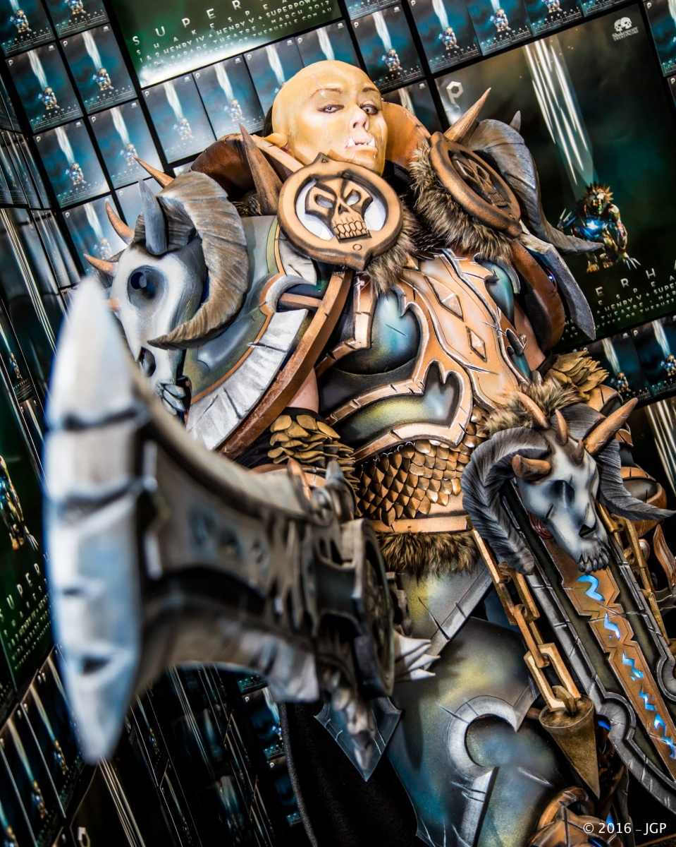 Led Strips Set World Of Warcraft: Legion – Orc Death Knight – Cosplay By