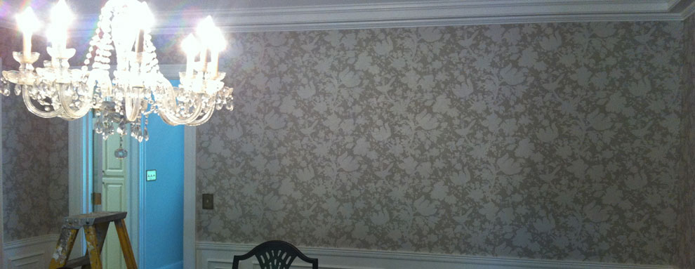 Greenville Spartanburg Painter  Wallpaper Hanger Henderson