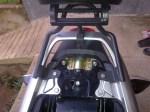 Modifikasi Honda New Mega Pro Bracket Rear Box Ex Honda Karisma X