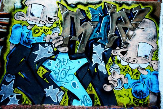 Wallpaper Graffiti Keren 3d Graffiti Hijauku Bumiku