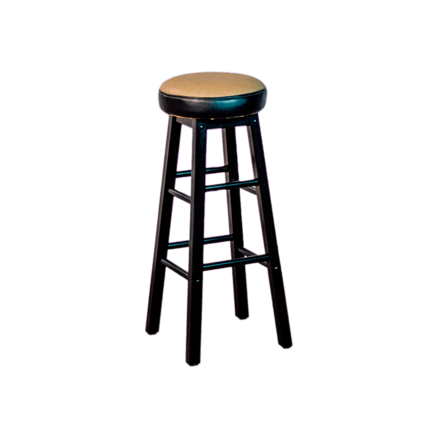 Padded Stool Padded Vinyl Wrapped Round Top Barstool Heng 39s Furniture