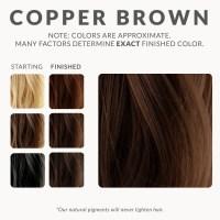 Copper Brown Henna Hair Dye  Henna Color Lab  Henna ...