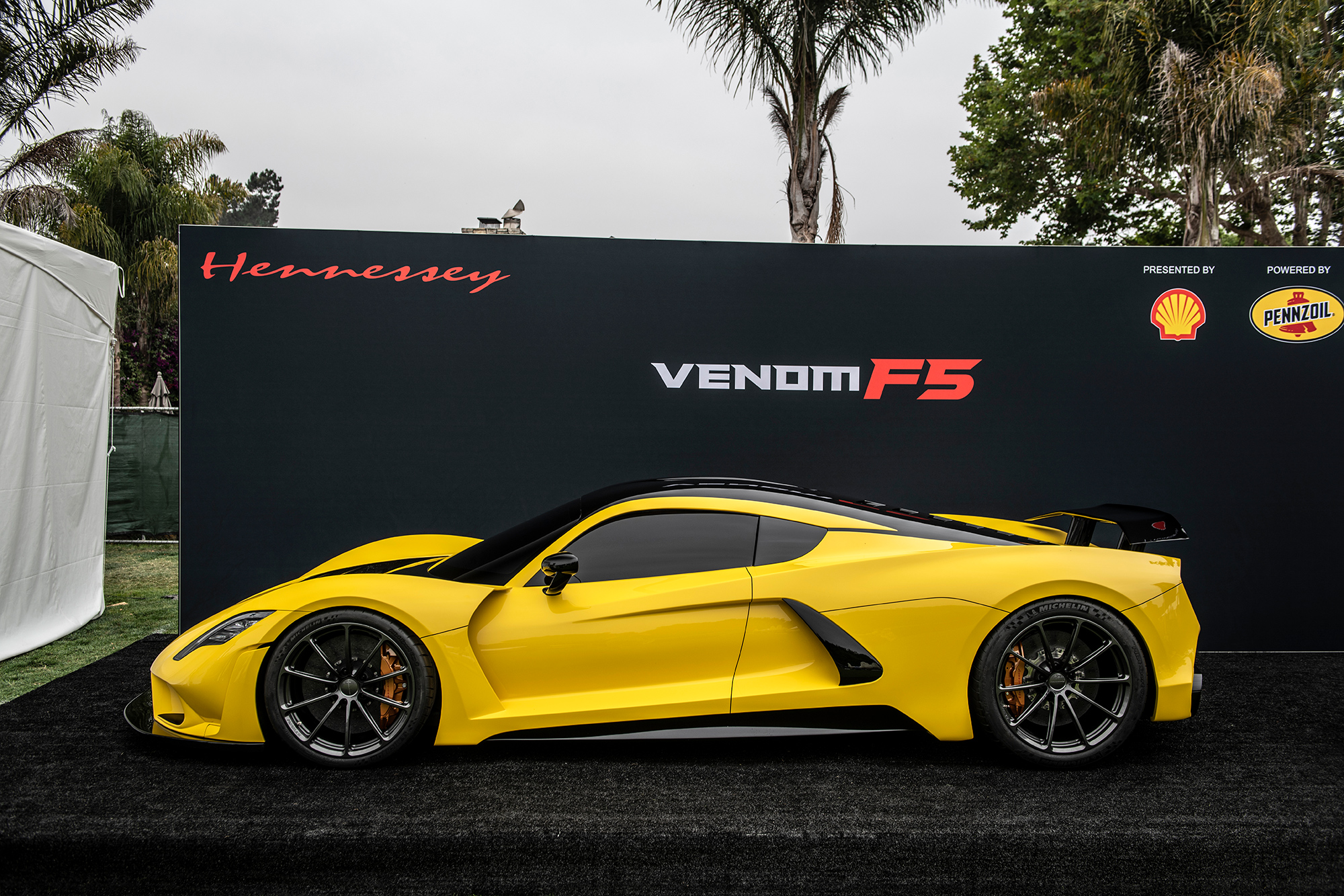 2018 Hennessey Venom F5 Venom F5 At The Quail 2018 Hennessey Special Vehicles