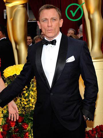 Daniel Craig With Tuxedo