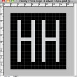 Developing the HH logo in Photoshop