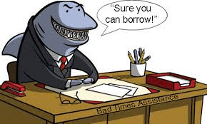 What payroll can do to keep away the loan sharks. | The Vision of the Pension Playpen