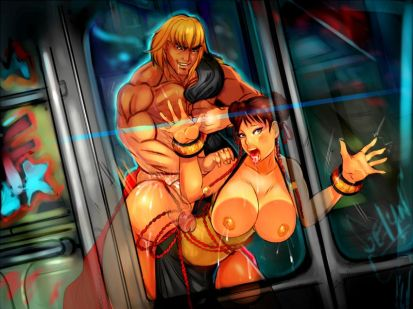 Street Fighter Hentai Drawing 18