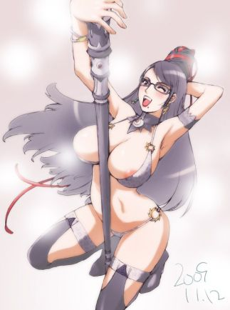 Japanese Bayonetta Hentai Drawing 08