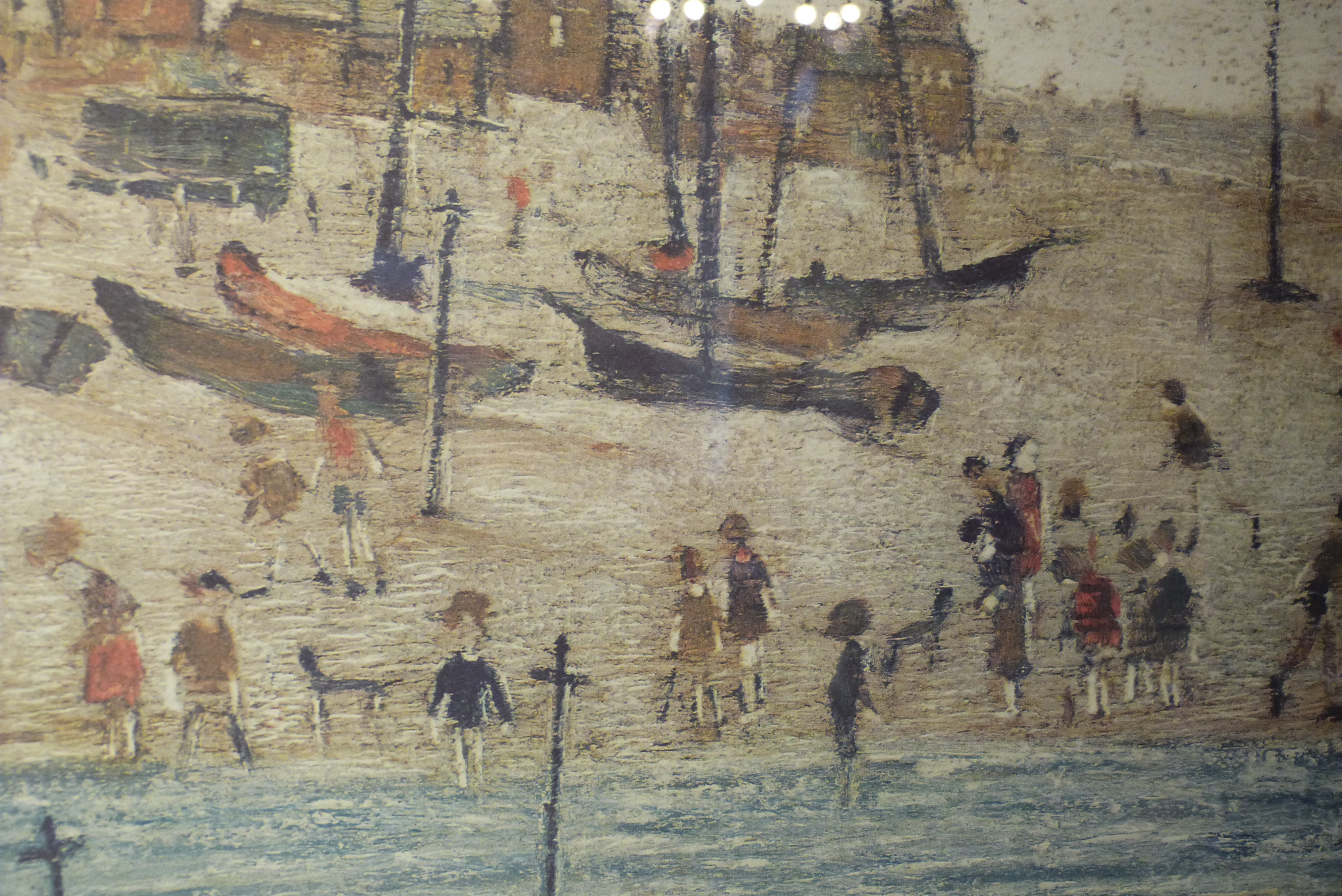 Beach Prints The Beach By L S Lowry Signed Limited Edition Print