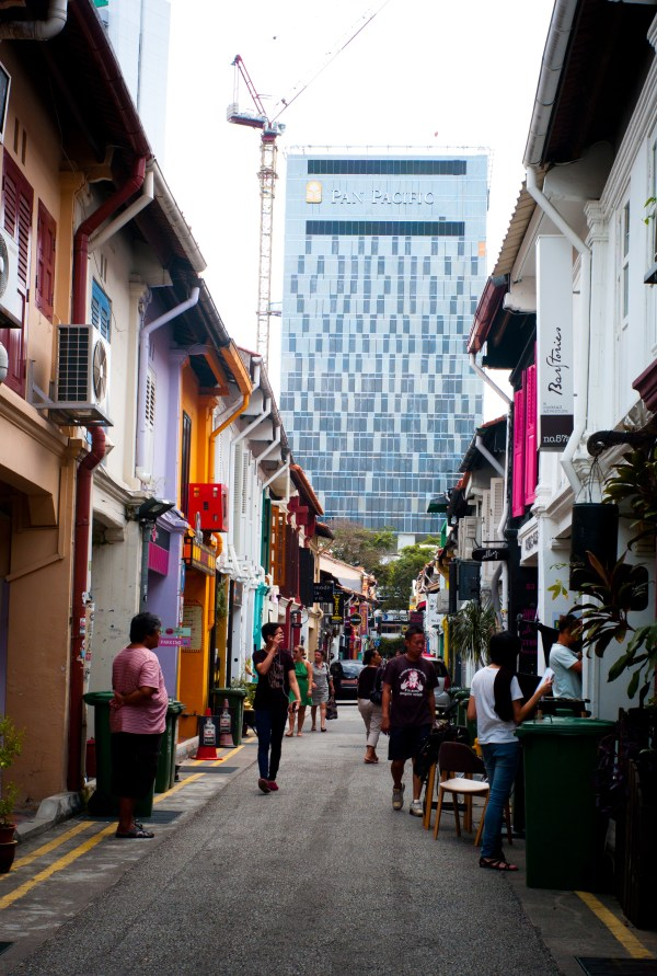 a look down Haji Lane