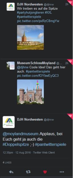 Schloss moyland udn Deutsche Jugendherberge Nordwesten