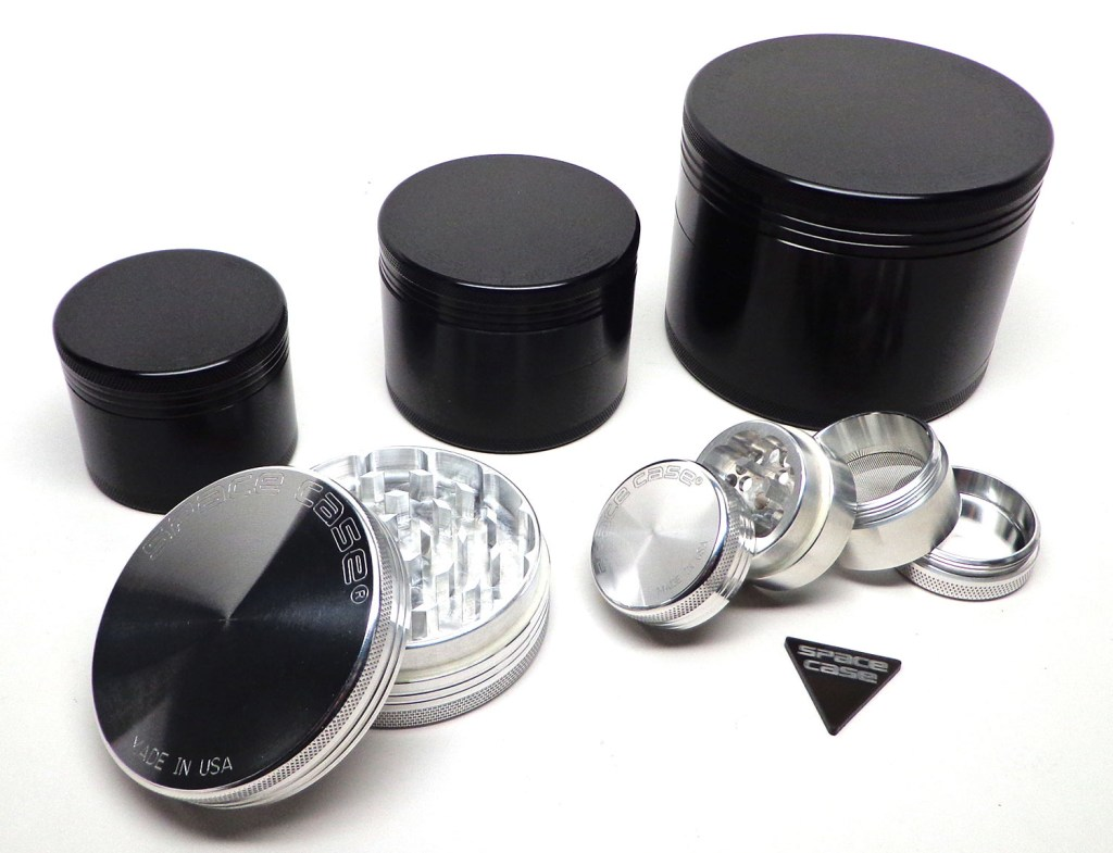 Pure Beauty: Space Case Grinders