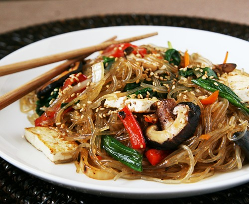 Vegetarian Jap Chae A Guest Recipe By Alice Of Savory