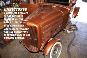 Restoration & Antique Pinstriping By Herb Martinez