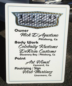Hand Painted & Vinyl Signs by Herb Martinez San Francisco Bay area, California
