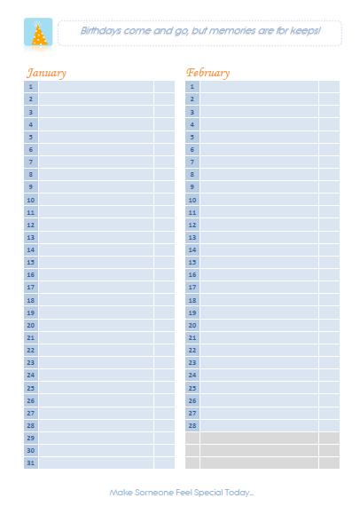 Perpetual Yahrzeit Calendar Perpetual Yahrzeit Program Remembering Your Loved Ones Calendar For Birthdays Calendar Template 2016