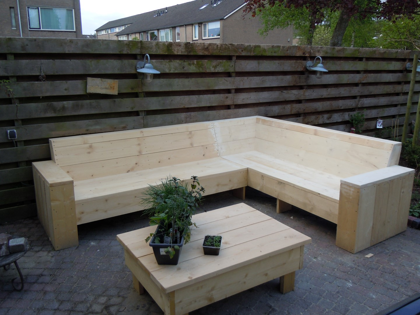 Loungebank Pallets Zelf Maken Family The Simple Pages