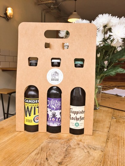 Customised beer gift pack