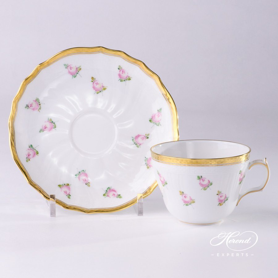 Small Coffee Cups And Saucers Tea Cup Small Roses Herend Experts