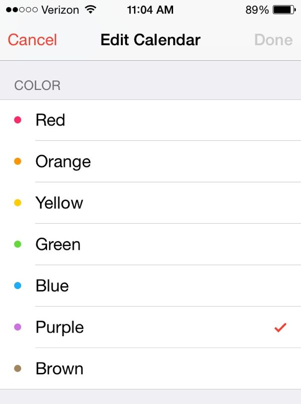 iOS tip How to color-code your Calendar events here\u0027s the thing