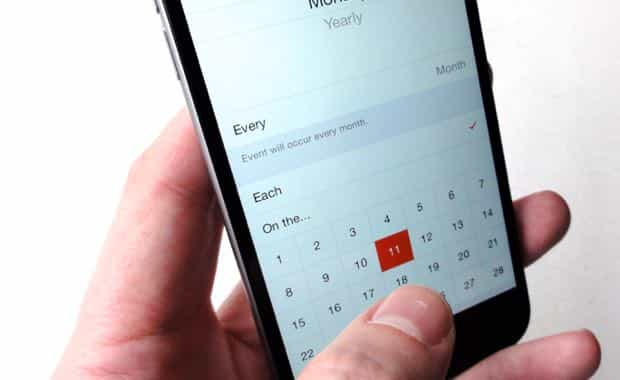 iOS tip Create your own custom repeating Calendar events here\u0027s