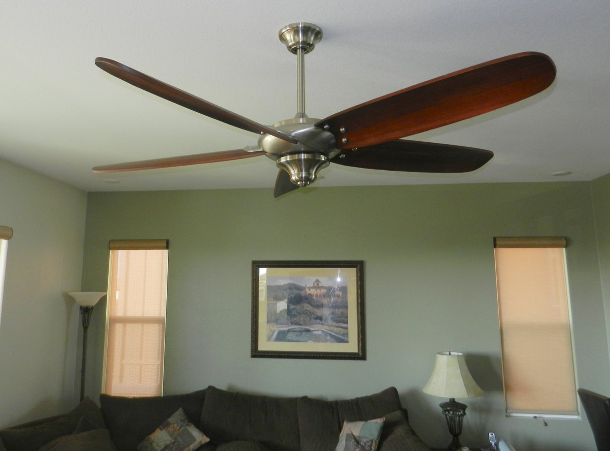 Ceiling Fan For Great Room Hampton Bay Altura Here 39s To A Full Life