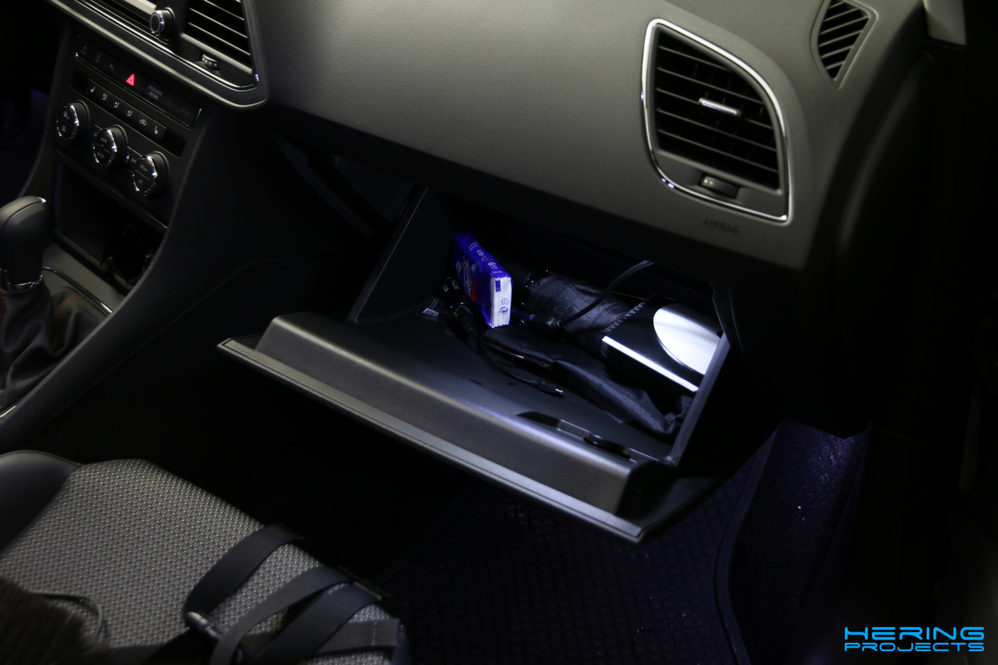 Led Beleuchtung Auto Innenraum Innenraumbeleuchtung Umrüsten Auf Led Seat Leon 5f Hering Projects