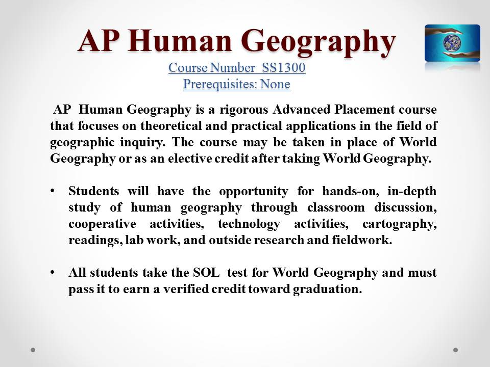 Ap Human Geography Released Essay Questions Custom Paper