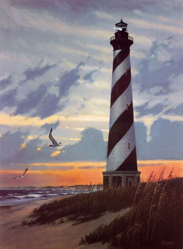 Florida Beach Fall Wallpaper Cape Hatteras Lighthouse Puzzle Jigsaw Puzzles