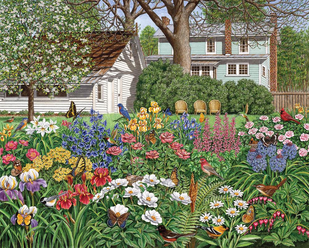 Florida Beach Fall Wallpaper Secret Garden Puzzle Jigsaw Puzzles