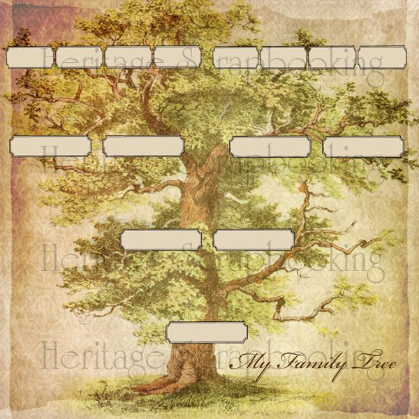 Familt tree paper 2 heritagescrapbook